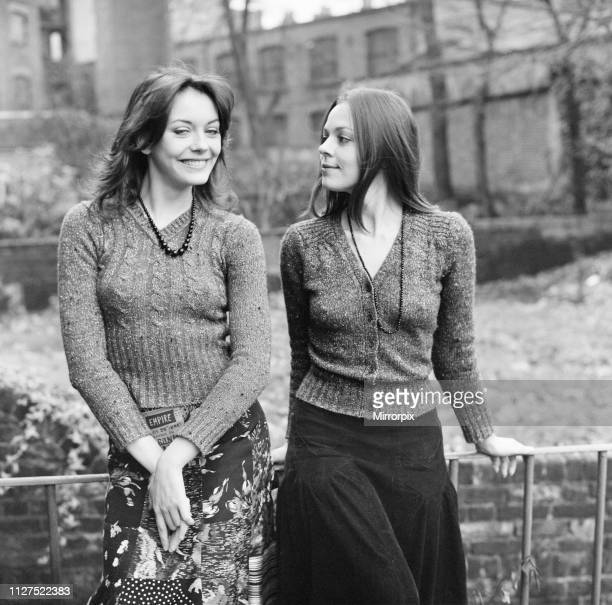 Lesley Anne Down and Jacqueline Tong British actresses who will be starring in the new series of Upstairs Downstairs for London Weekend Television...