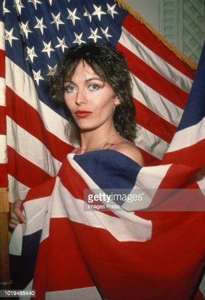 Lesley Anne Down circa 1980 in New York.