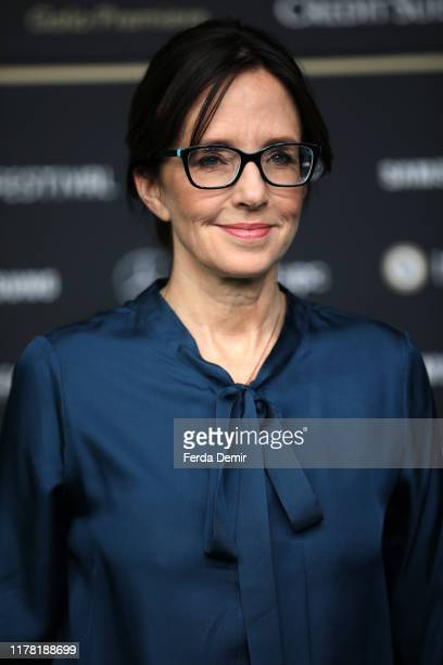 """Lesley Chilcott attends the """"Watson"""" photo call during the 15th Zurich Film Festival at Kino Corso on September 30, 2019 in Zurich, Switzerland."""