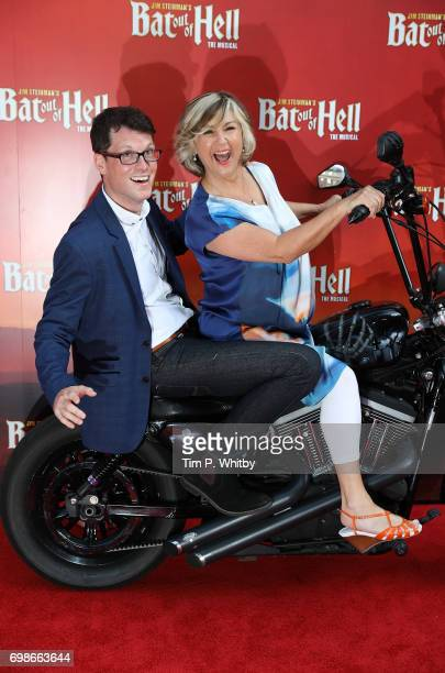 Lesley Garrett and guest attend the press night of 'Bat Out Of Hell The Musical' at The London Coliseum on June 20 2017 in London England