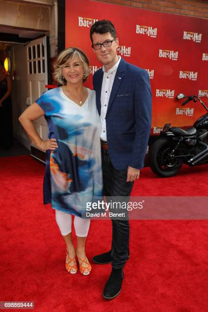Lesley Garrett and guest attend the press night performance of Bat Out Of Hell The Musical at The London Coliseum on June 20 2017 in London England