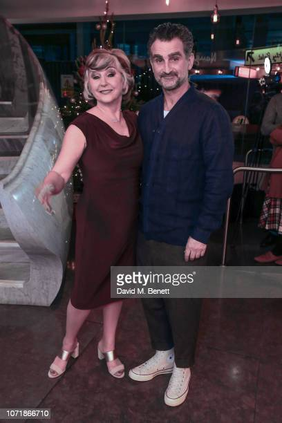 Lesley Garrett and John Marquez attend the press night performance of The Messiah at The Other Palace on December 11 2018 in London England