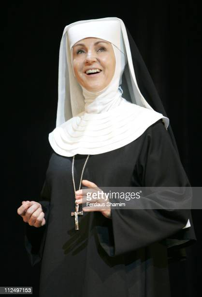 Lesley Garrett as Mother Abbess during 'The Sound of Music' London Photocall November 6 2006 at London Palladium in London Great Britain