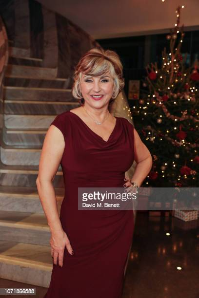 Lesley Garrett attends the press night performance of The Messiah at The Other Palace on December 11 2018 in London England