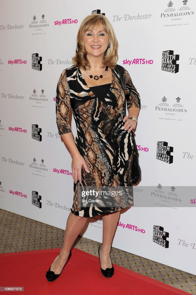 Lesley Garrett attends the South Bank Sky Arts Awards at The Dorchester on January 25, 2011 in London, England.