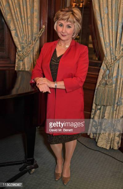 Lesley Garrett currently starring in the English National Opera's Jack The Ripper The Women Of Whitechapel performs at a panel discussion on the...