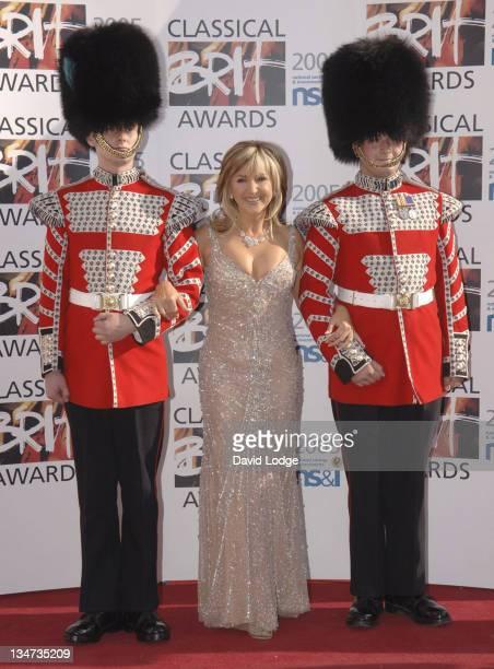 Lesley Garrett during Classical Brit Awards 2005 at Royal Albert Hall in London Great Britain