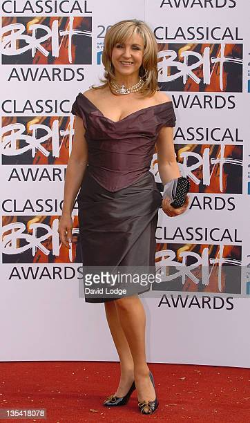 Lesley Garrett during The Classical Brit Awards 2006 Outside Arrivals at Royal Albert Hall in London Great Britain