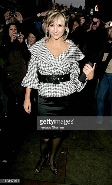 Lesley Garrett during What's On Stage Awards Arrivals at Cafe de Paris in London Great Britain