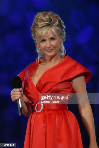 Lesley Garrett performs on stage at Proms in the Park London 2007