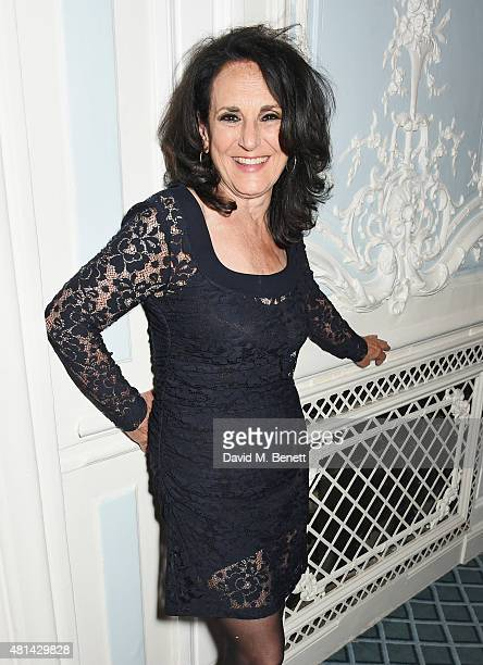 Lesley Joseph attends an after party following the press night performance of Sinatra At The London Palladium at The Savoy Hotel on July 20 2015 in...