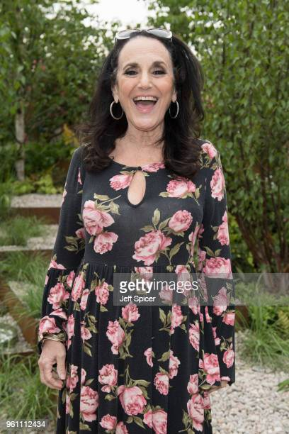 Lesley Joseph attends the Chelsea Flower Show 2018 on May 21 2018 in London England