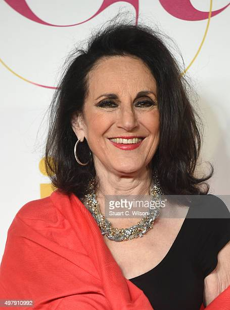Lesley Joseph attends the ITV Gala at London Palladium on November 19 2015 in London England