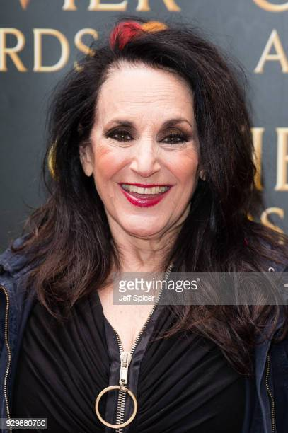 Lesley Joseph attends the Olivier Awards nominations celebration at Rosewood Hotel on March 9 2018 in London England