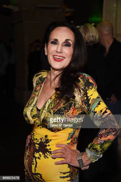 Lesley Joseph attends the press night performance of Mel Brooks' Young Frankenstein at The Garrick Theatre on October 10 2017 in London England
