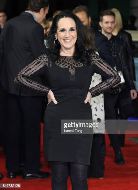 Lesley Joseph attends the World Premiere of 'The Time Of Their Lives' at the Curzon Mayfair on March 8, 2017 in London, United Kingdom.