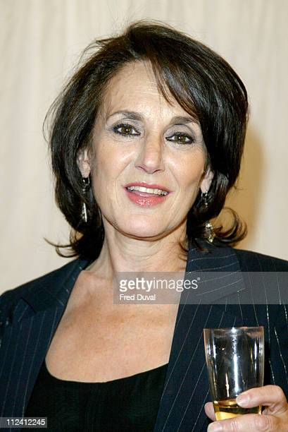 Lesley Joseph during ITV's Hell's Kitchen Arrivals May 29 2004 at Brick Lane in London United Kingdom