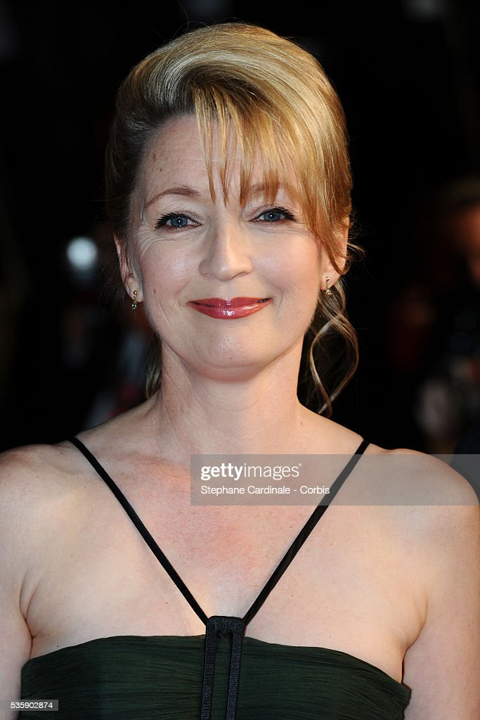 Lesley Manville at the premiere of 'Another year' during the 63rd Cannes International Film Festival.