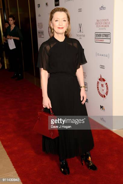 Lesley Manville attends London Film Critics' Circle Awards 2018 at The Mayfair Hotel on January 28 2018 in London England