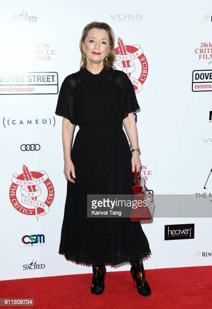 Lesley Manville attends the London Film Critics Circle Awards 2018 at The May Fair Hotel on January 28 2018 in London England