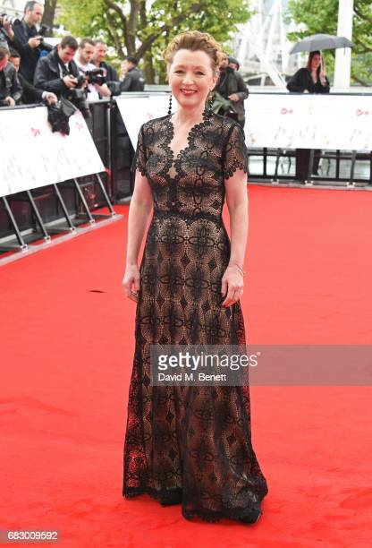 Lesley Manville attends the Virgin TV BAFTA Television Awards at The Royal Festival Hall on May 14 2017 in London England