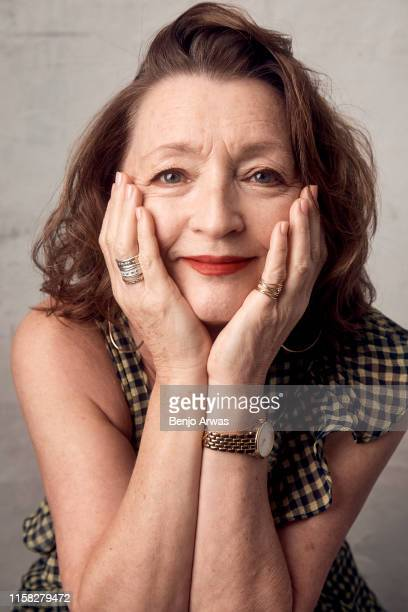 Lesley Manville of BritBox's 'Mum' poses for a portrait during the 2019 Summer Television Critics Association Press Tour at The Beverly Hilton Hotel...