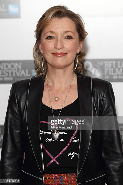 Lesley Manville promotes the film 'Another Year ' at the 54th BFI London Film Festival at Vue West End on October 18 2010 in London England