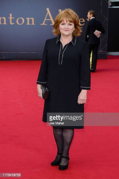 "Lesley Nicol attends the ""Downton Abbey"" World Premiere at Cineworld Leicester Square on September 09, 2019 in London, England."