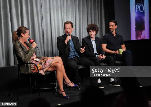 Lesley O'Toole John Asher Julian Feder and Christopher Gorham attend the SAGAFTRA Foundation Conversations with 'A Boy Called Po' at SAGAFTRA...