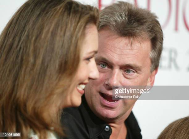 """Lesley Sajak and Pat Sajak during """"Radio"""" Hollywood Premiere at The Academy of Motion Pictures Arts and Science in Hollywood, California, United..."""