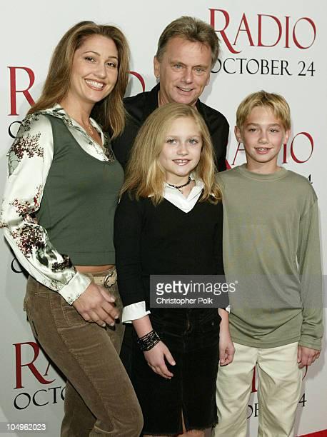 Lesley Sajak, Pat Sajak, daughter Maggie and Son Patrick