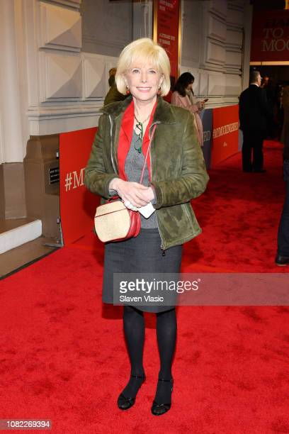 Lesley Stahl attends opening night of To Kill A Mocking Bird at the Shubert Theatre on December 13 2018 in New York City