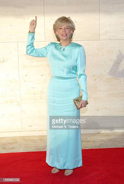 Lesley Stahl attends the 2009 New York City Ballet Spring Gala at David H Koch Theater Lincoln Center on May 13 2009 in New York City