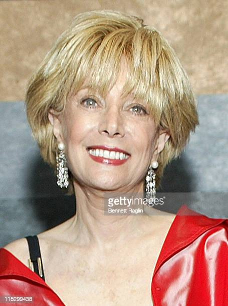 Lesley Stahl during 15th Annual Gala benefiting the Mental Health Association of New York City at The Rainbow Room in New York City New York United...