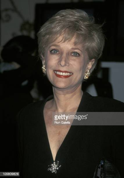 Lesley Stahl during Museum of Television And Radio's Annual Gala at Waldorf Astoria in New York City New York United States