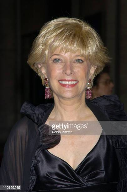 Lesley Stahl during New York City Ballet 2004 Spring Gala Balanchine's 100 at Lincoln Center Plaza in New York City New York United States