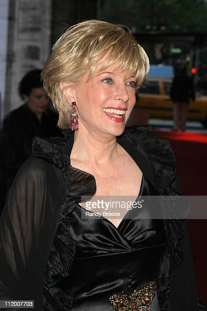 Lesley Stahl during NYC Lincoln Center Ballet 2004 Spring Gala at Lincoln Center in New York City New York United States
