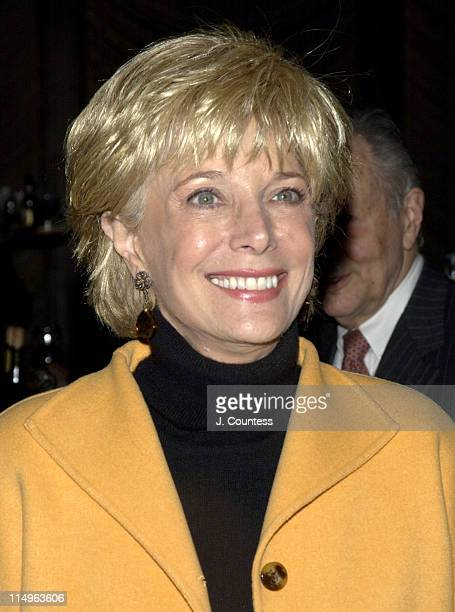 Lesley Stahl during Peter Bart's Dangerous Company Book Release Party at Four Seasons Hotel in New York New York United States