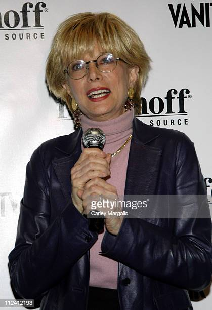 Lesley Stahl during Vanity Fair and Fortunoff Host Women in the Know Awards Honoring Petra Nemcova Lesley Stahl and Carolina Herrera at Fortunoff in...