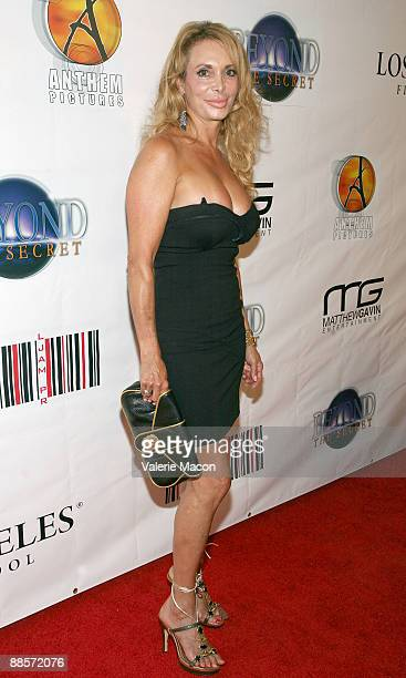 Lesley Vogel arrives at the DVD release of Beyond the Secret at the Los Angeles Film School on June 18 2009 in Los Angeles California