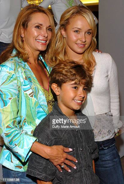 Lesley Vogel Hayden Panettiere and Jansen Panettiere