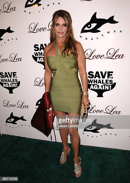 Lesley Vogel Panettiere attends a benefit for the Whaleman Foundation at Beso on November 15 2009 in Hollywood California