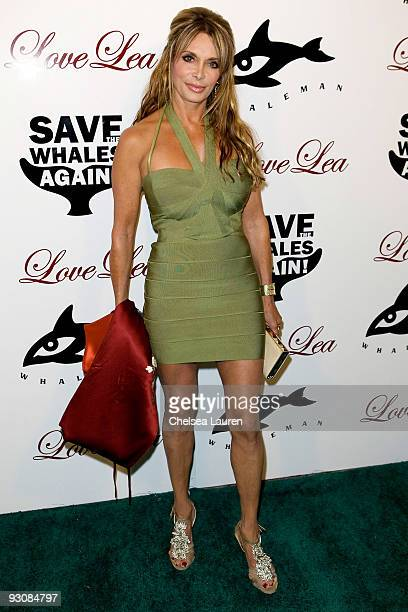 Lesley Vogel Panettiere attends The Whaleman Foundation Benefit at Beso on November 15 2009 in Hollywood California