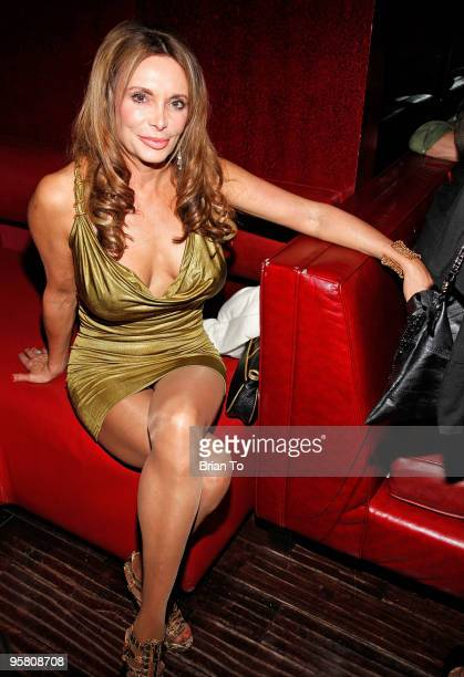 Lesley Vogel Panettiere attends TV producer Adam Havener's birthday at Beso Restaurant at Beso on January 15 2010 in Hollywood California