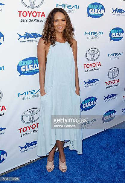 LesleyAnn Brandt attends the 'Keep It Clean A Live Comedy Benefit For Waterkeeper Alliance' at Avalon on April 21 2016 in Hollywood California