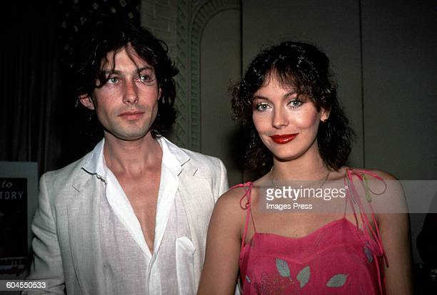 Lesley-Anne Down and Bruce Robinson circa 1978 in New York City.