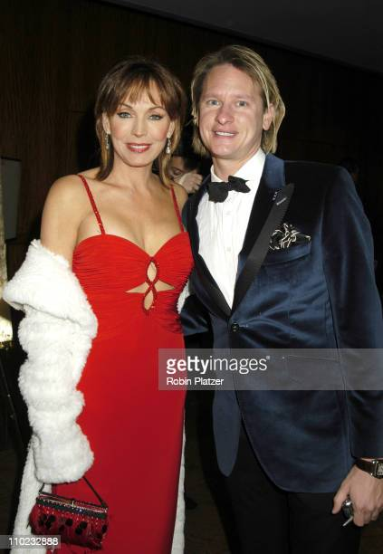 Lesley-Anne Down and Carson Kressley during The 32nd Annual International Emmy Awards at The New York Hilton Hotel in New York, New York, United...