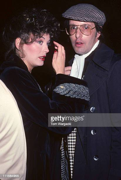 Lesley-Anne Down and William Friedkin at Broadway Play, New York November 1981.