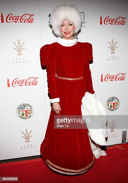LesleyAnne Down attends the 2009 Hollywood Christmas Parade on November 29 2009 in Hollywood California