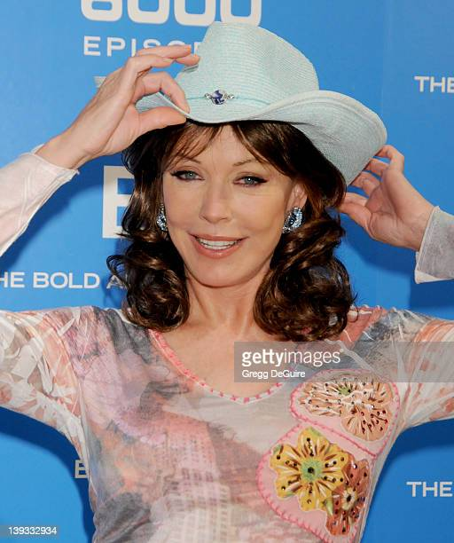 LesleyAnne Down attends the 6000 Episode of The Bold and the Beautiful at CBS Television City on February 7 2011 in Los Angeles California